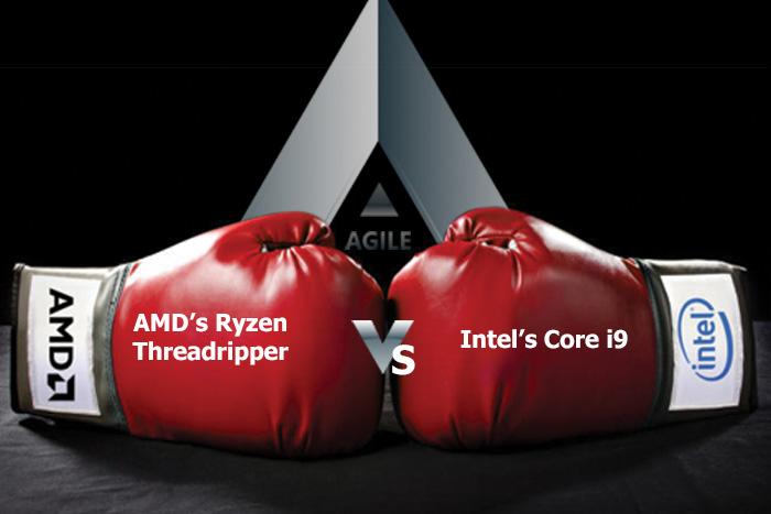 مقارنة شاملة بين معالجي Core i9 Intel - AMD Ryzen Threadripper